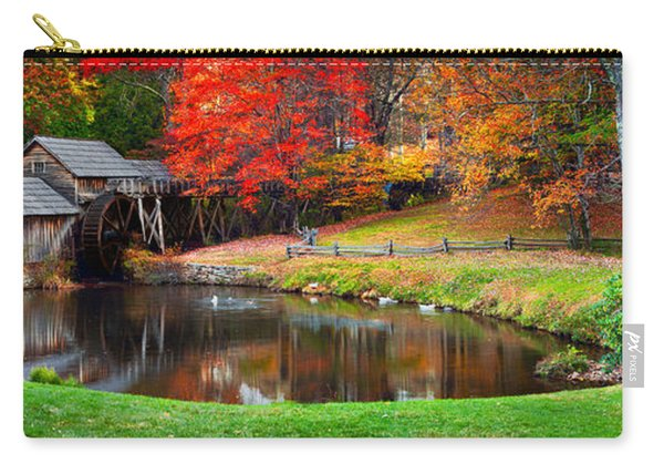 Mabry Mill Pano Carry-all Pouch