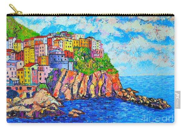 Manarola Cinque Terre Italy  Carry-all Pouch