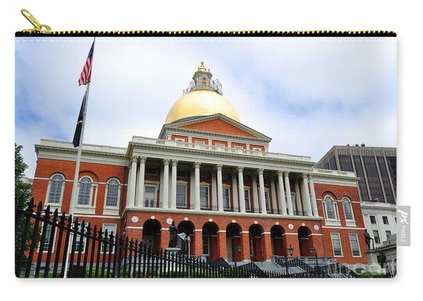 Massachusetts State House Boston Ma Carry-all Pouch