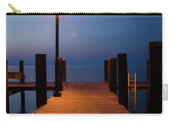 Morning On The Dock Carry-all Pouch