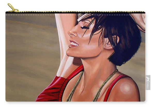 Natalie Imbruglia Painting Carry-all Pouch