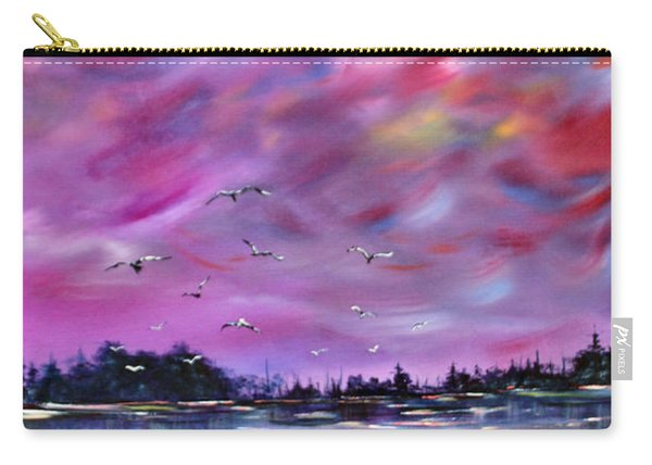 Neuse River Gulls North Carolina Carry-all Pouch