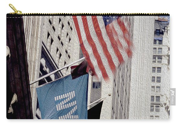 New York Stock Exchange Carry-all Pouch