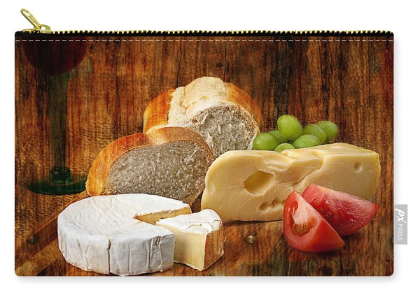 Norwegian Jarlsberg And Camembert Carry-all Pouch