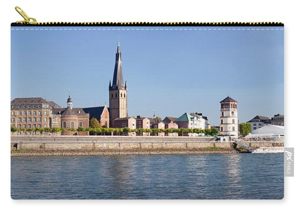 Old Town With Lambertus Church Carry-all Pouch