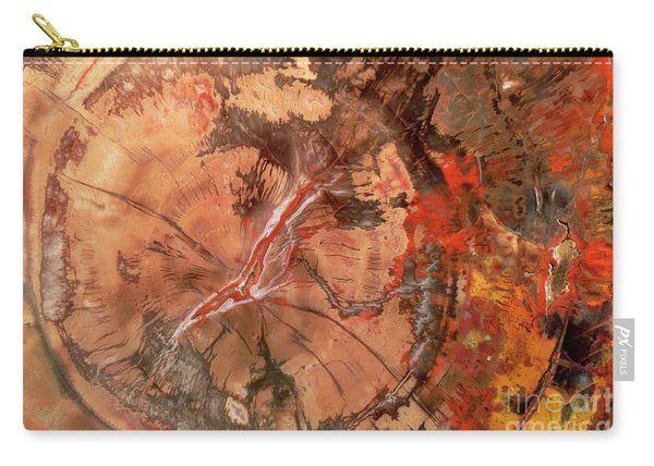 Petrified Wood Detail Carry-all Pouch