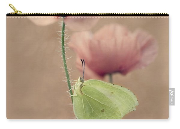 Carry-all Pouch featuring the photograph Poppies by Jaroslaw Blaminsky