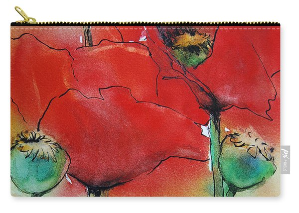 Poppies I Carry-all Pouch