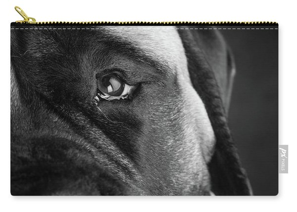 Portrait Of A Mastiff Carry-all Pouch