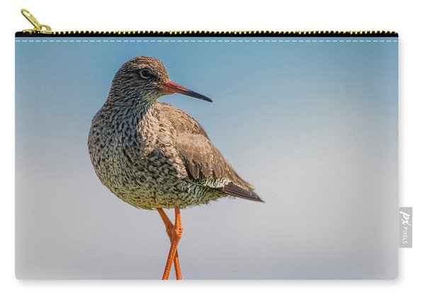 Redshank Tringa Totanus, Flatey Island Carry-all Pouch
