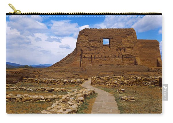 Ruins Of The Pecos Pueblo Mission Carry-all Pouch