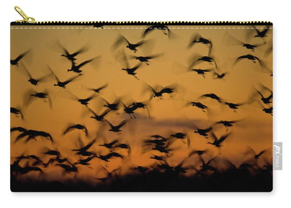 Sandhill Migration Carry-all Pouch