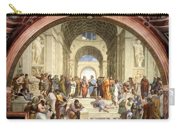 School Of Athens Carry-all Pouch