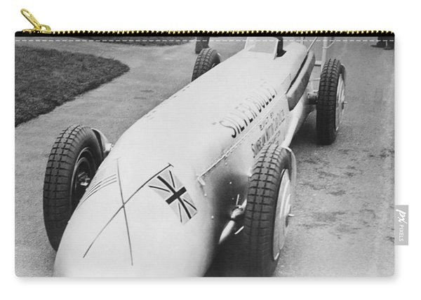 Silver Bullet Race Car Carry-all Pouch