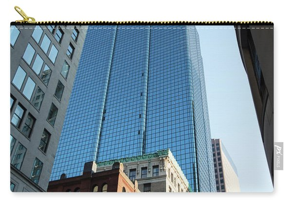 Skyscrapers In A City, Boston Carry-all Pouch