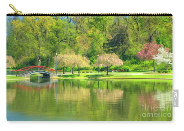 Springtime Reflections Carry-all Pouch