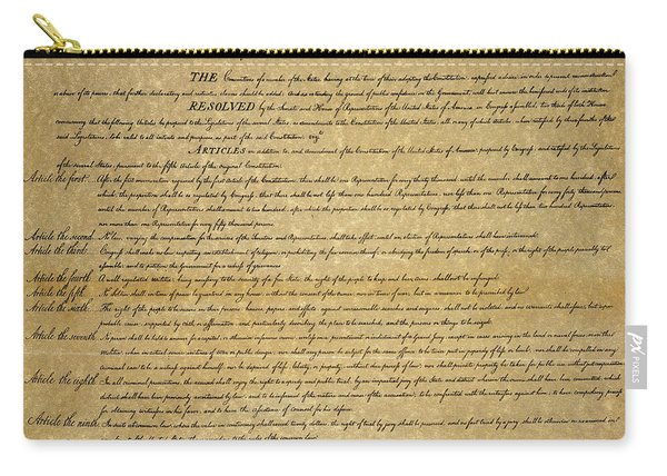 The Bill Of Rights, 1789 Carry-all Pouch