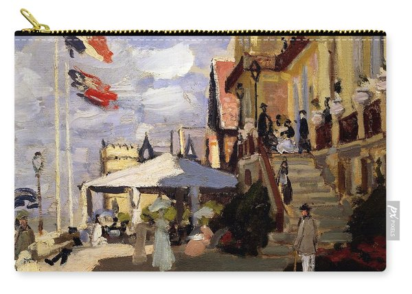 The Hotel Des Roches Noires At Trouville Carry-all Pouch