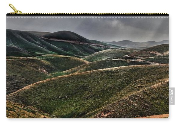 The Lord Is My Shepherd Judean Hills Israel Carry-all Pouch