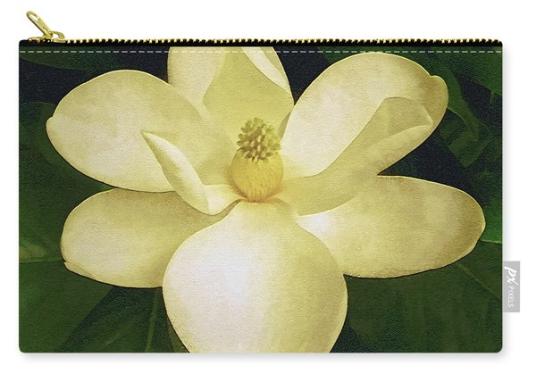 Vintage Magnolia Carry-all Pouch