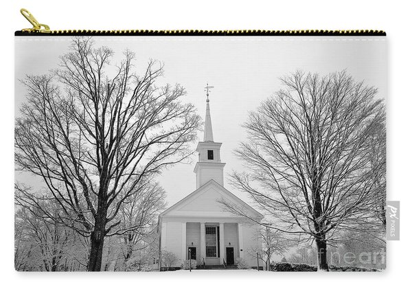 Winter Snow Scene Carry-all Pouch