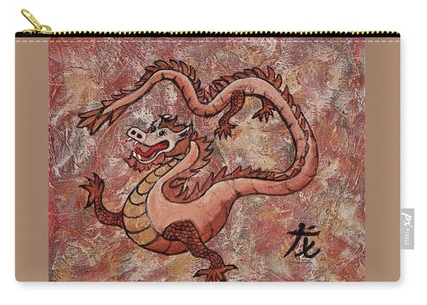 Year Of The Dragon Carry-all Pouch