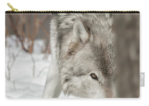 Timber Wolf Pictures Carry-all Pouch