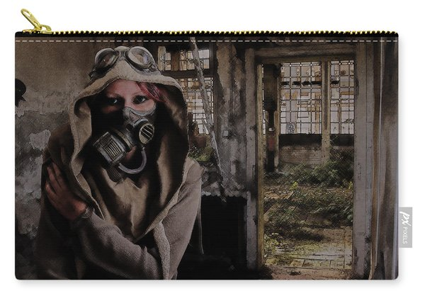 2050 Post Apocalyptic Scene Carry-all Pouch