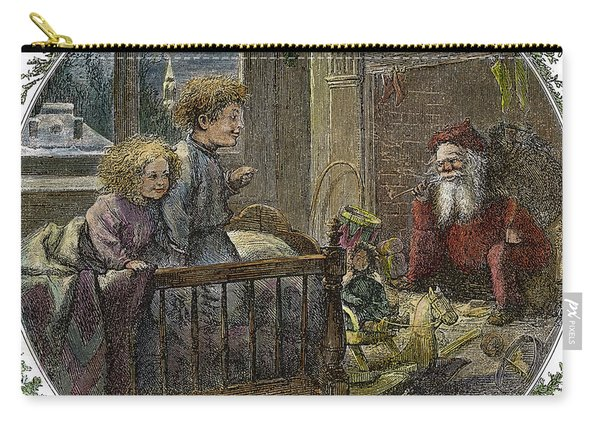 Thomas Nast Santa Claus Carry-all Pouch