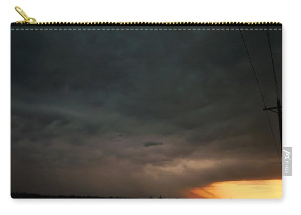 Let The Storm Season Begin Carry-all Pouch