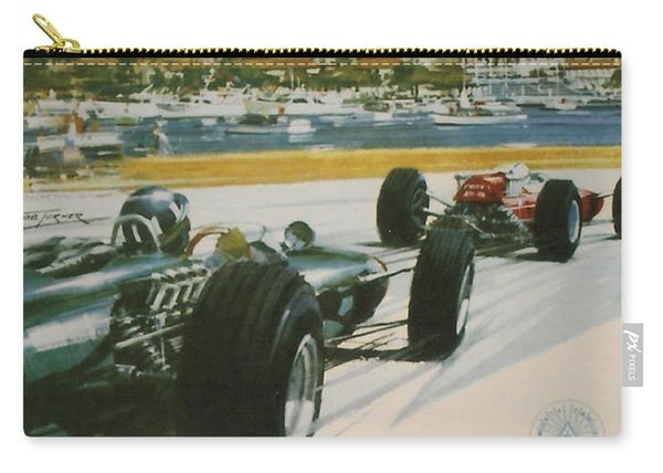24th Monaco Grand Prix 1966 Carry-all Pouch
