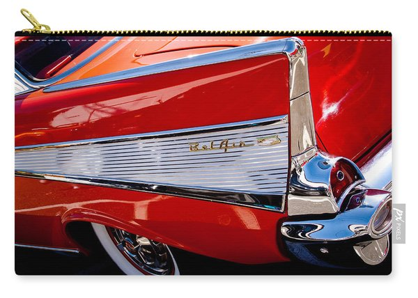 1957 Chevy Bel Air Custom Hot Rod Carry-all Pouch