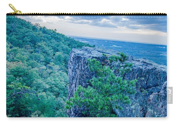 Beautiful Aerial Landscape Views From Crowders Mountain Near Gas Carry-all Pouch