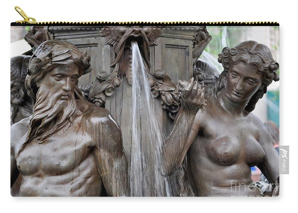 Brewer Fountain Boston Ma  Carry-all Pouch