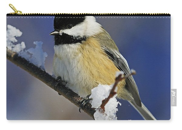 Winter Chickadee... Carry-all Pouch