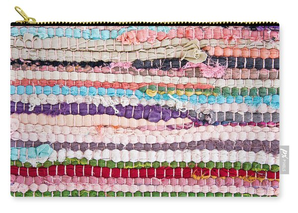 Colorful Rug Carry-all Pouch
