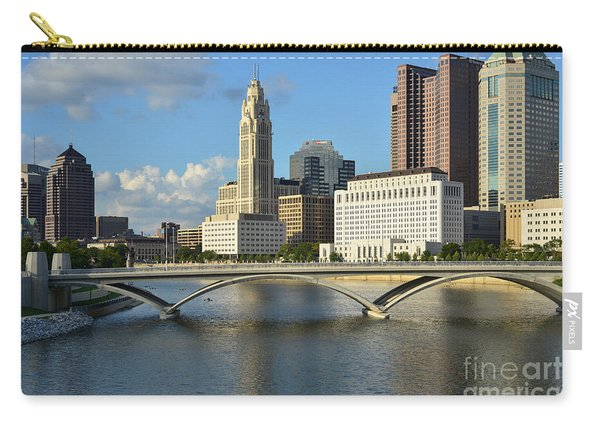 Columbus Ohio Skyline Photo Carry-all Pouch