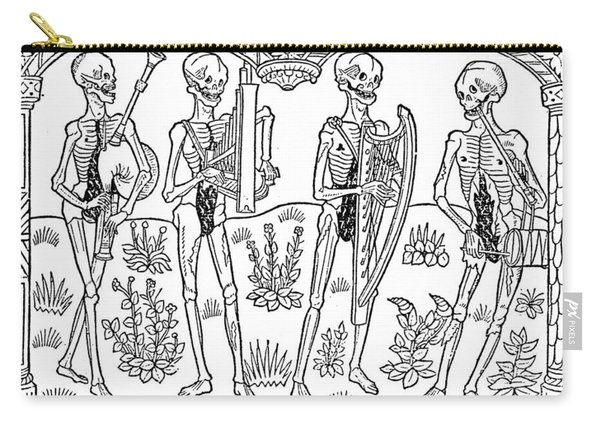 Dance Of Death, 1490 Carry-all Pouch