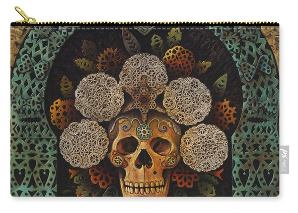Dia De Muertos Madonna Carry-all Pouch