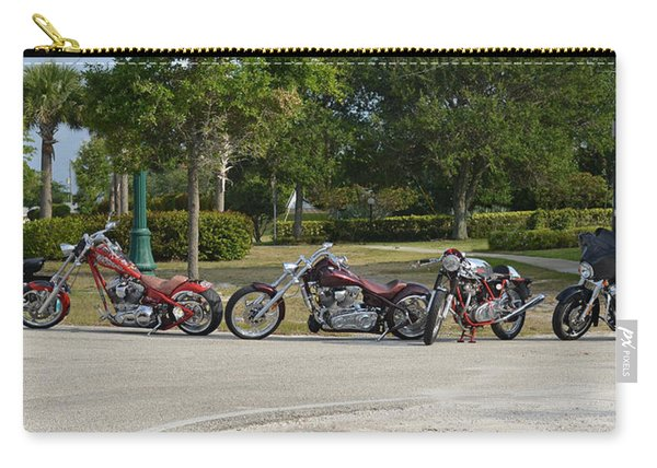 Hogs And Choppers Carry-all Pouch