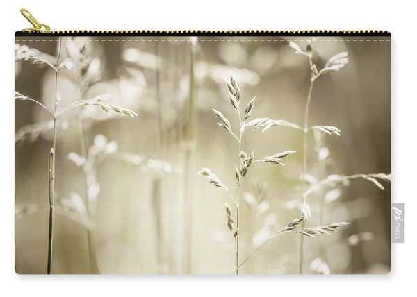 June Grass Flowering Carry-all Pouch
