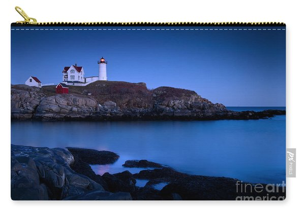 Carry-all Pouch featuring the photograph Nubble Lighthouse by Brian Jannsen