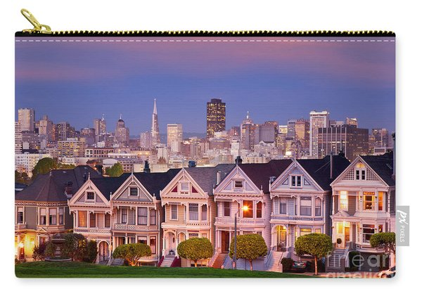Carry-all Pouch featuring the photograph Painted Ladies by Brian Jannsen