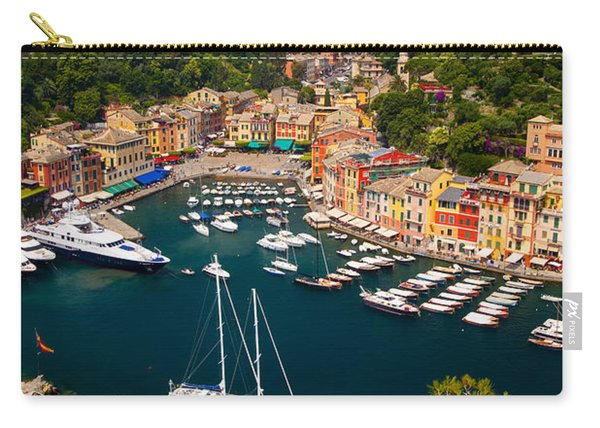 Carry-all Pouch featuring the photograph Portofino by Brian Jannsen