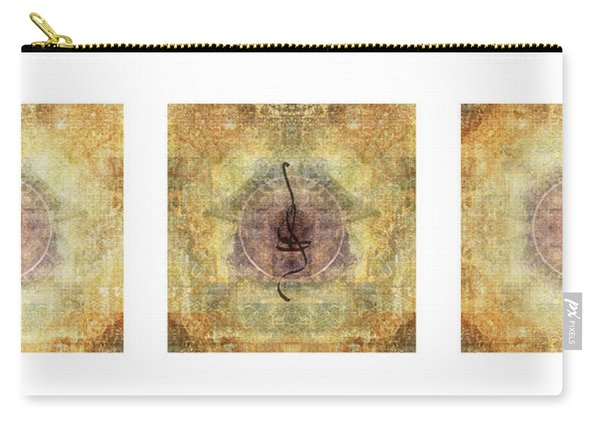 Prayer Flag Triptych  Carry-all Pouch