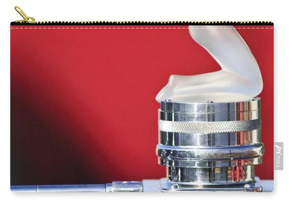 Rene Lalique - Chrysis - 1937 Rolls-royce Phantom IIi Aero Coupe Hood Ornament Carry-all Pouch