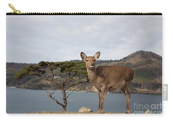 Sika Deer Cervus Nippon Carry-all Pouch