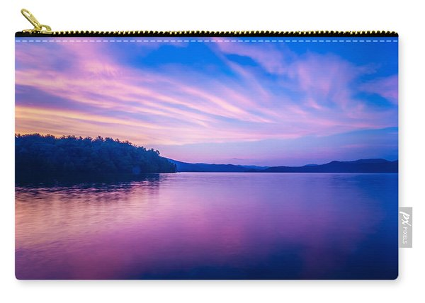 Sunset During Blue Hour At The Lake Carry-all Pouch