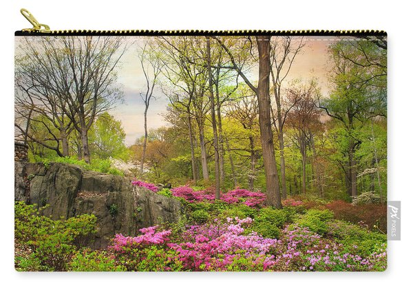 The Azalea Garden Carry-all Pouch