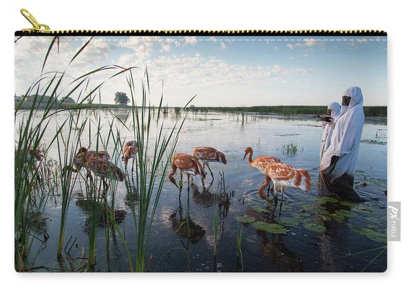 Whooping Crane Reintroduction, Direct Carry-all Pouch